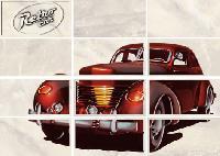 Latte Декор светло-бежевый Car 2 (LT2M304) – 35x25